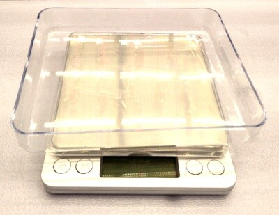 BioChem Grow Platform Scale with Digital Display 6.5 pound capacity 0.1 gram resolution