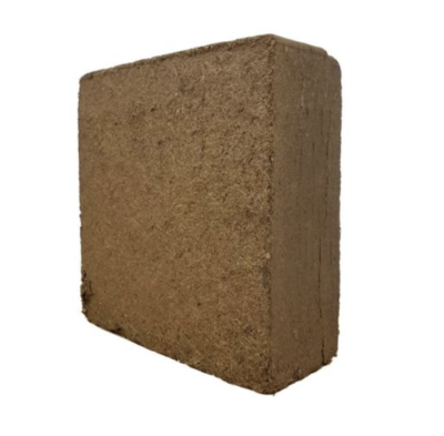 Aurora Innovations Roots Organics Unwrapped Expandable Coco Brick Bale Organic Growing Medium 2 cubic foot pallet of 240