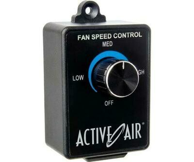 Active Air Analog 120 VAC Fan Speed Controller for Inline/ Centrifugal Fans