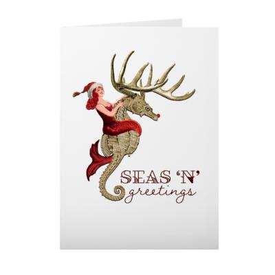 Seas 'N' Greetings Cards 10 Pack