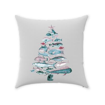 """Fish-Mas"" Tree Pillow"