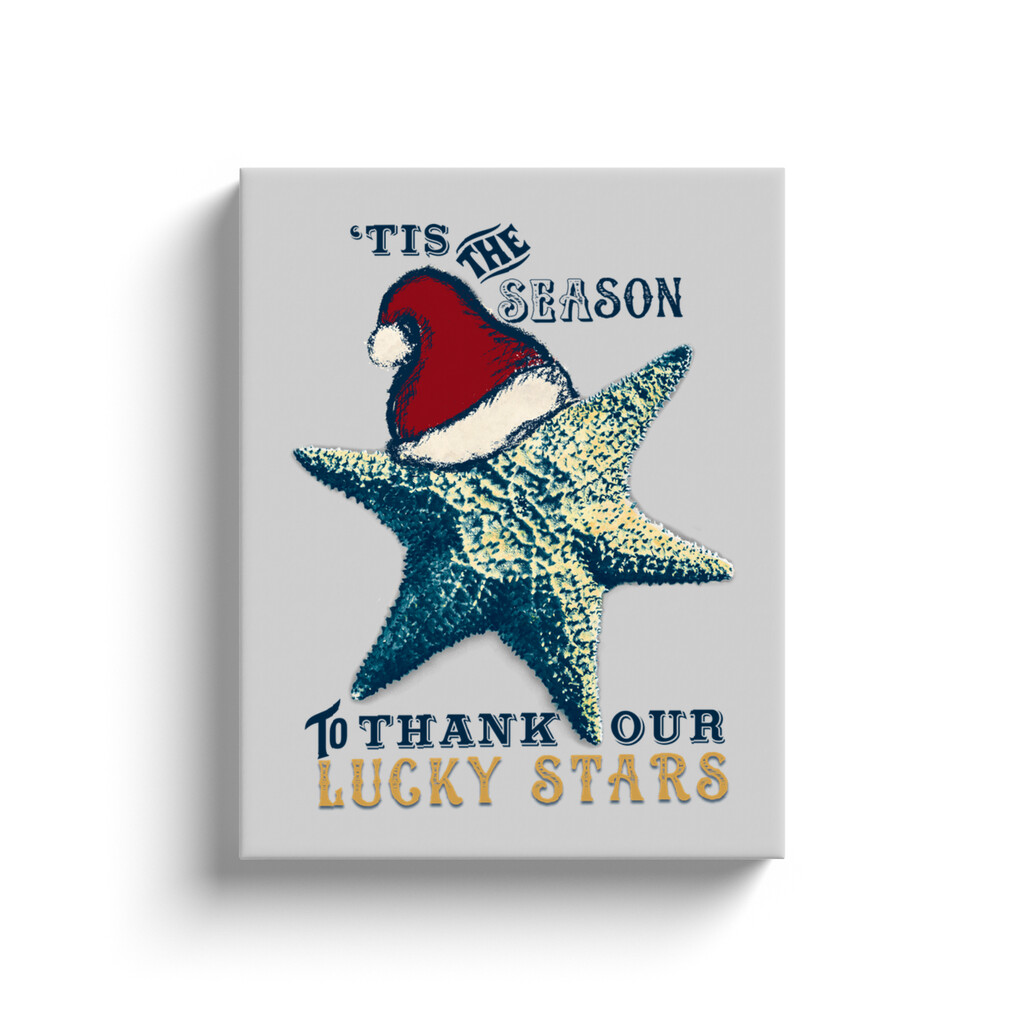 """Lucky Stars"" 11x14 Wrapped Canvas Print"