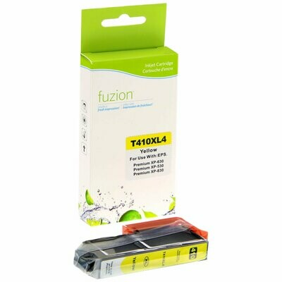 New Compatible Ink Cartridge  Epson T410420 Inkjet - HY Yellow 650 Epson Expression Premium XP-530 640 830 900