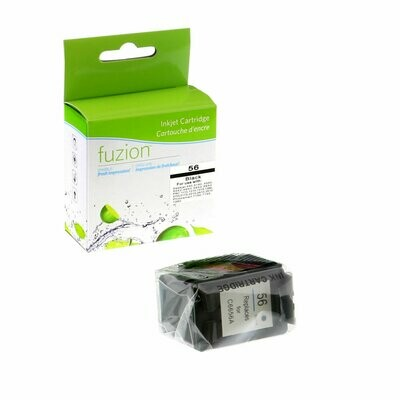 New Compatible INK Cartridge HP Deskjet 5650 5550 HP Officejet 4110, 6110, HP Photosmart B8550, Colour Black (C6656AN) Yield 520