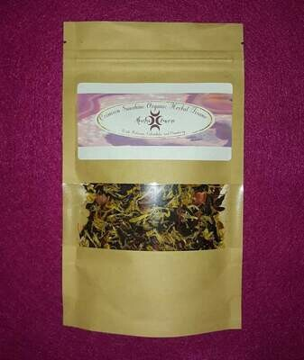 Crimson Sunshine Organic Herbal Tisane Tea