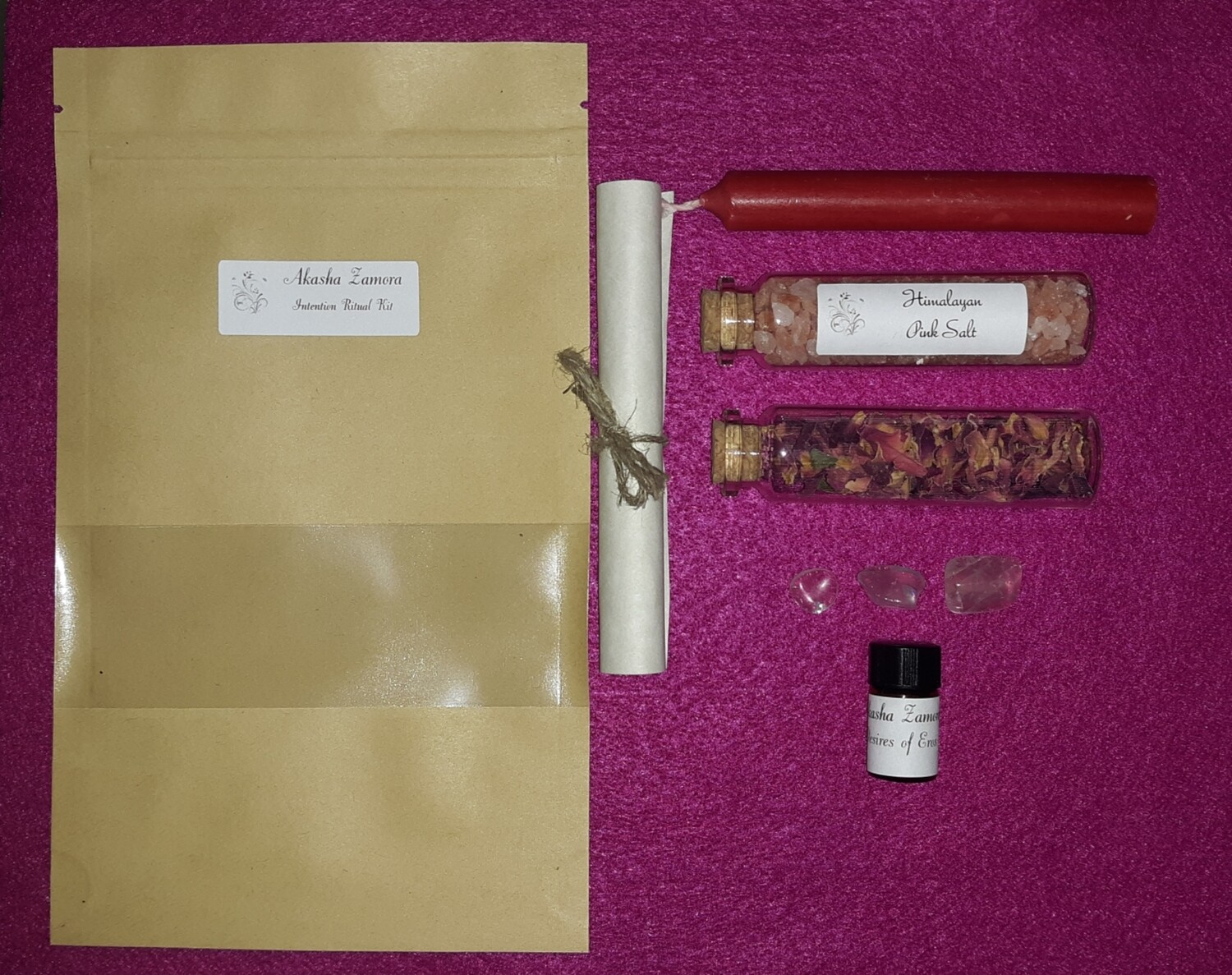 Love Intention Ritual Kit