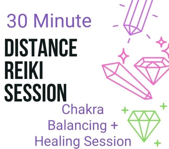 Akasha Zamora Distance Reiki 30 Minute Healing Session with Chakra Balancing