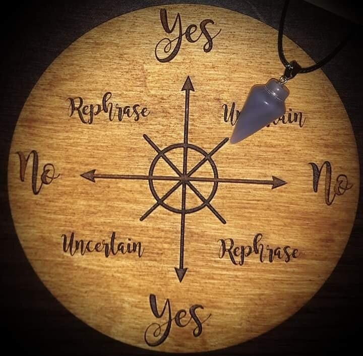Akasha Zamora Pendulum Reading - 5 Yes or No Questions