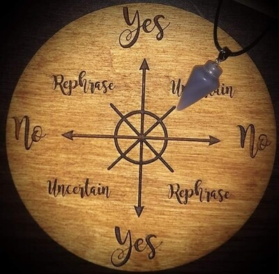 Akasha Zamora Pendulum Reading - 5 Yes or No Questions