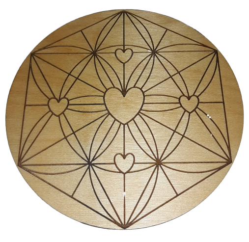 Heart Crystal Grid