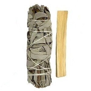 White Sage and Palo Santo