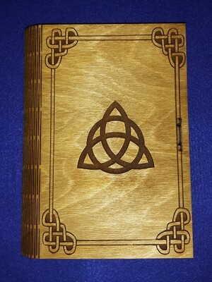 Triquetra Living Hinge Book Box