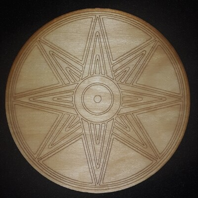 Star of Ishtar/Inanna Crystal Grid