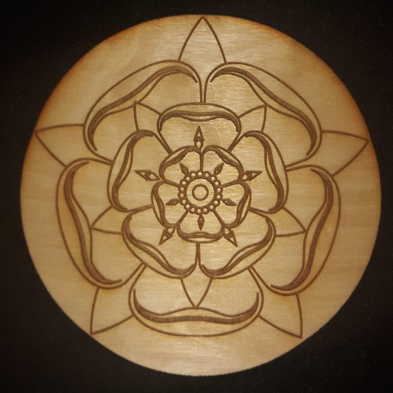 Magdalene Rose Star Crystal Grid