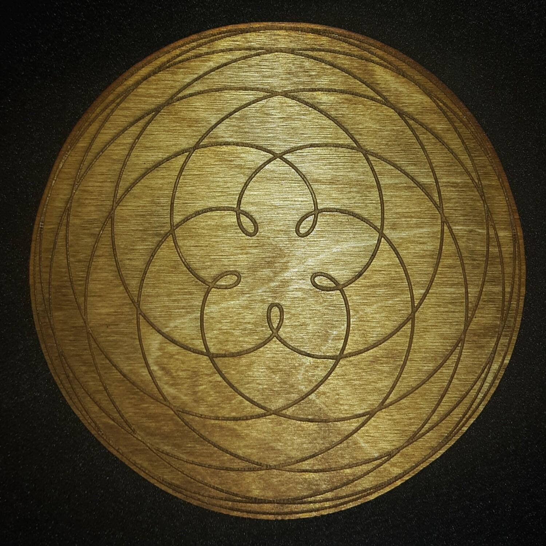 Venusian Rose Path of Venus Crystal Grid