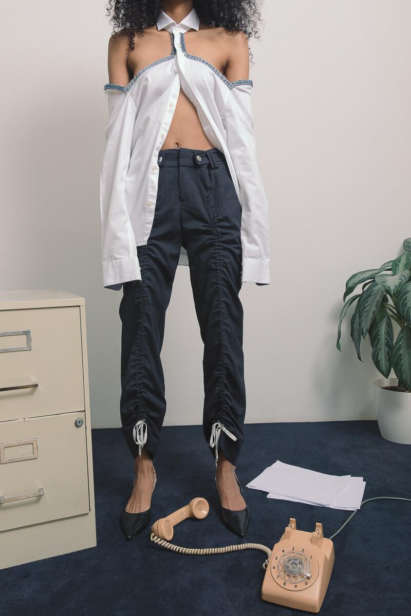 Adjustable tie pants (XS-S)