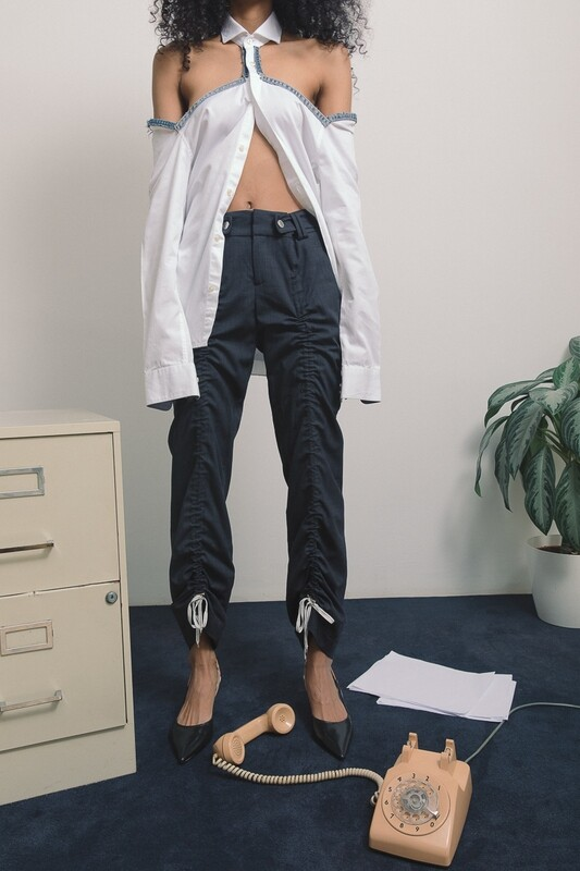 Adjustable tie pants (XS-S)