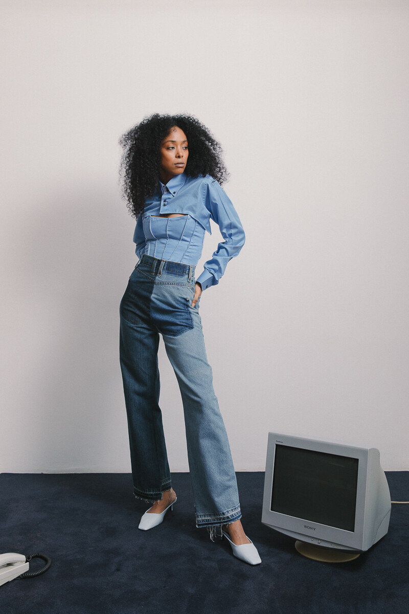 The Reverse Jeans (Size XS)