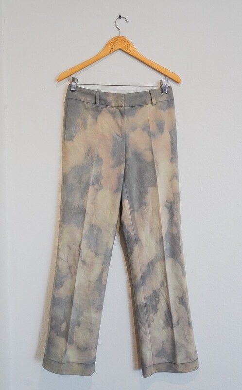 The Tie Dye Beige Trousers (Size S)