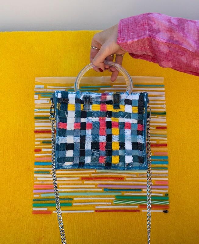 Towel Zero Waste Mini Bag Collab X Ariela Kader