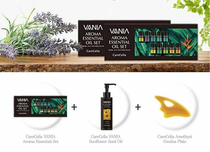 CareCella VANIA Aroma Set 2+1 Giveaway