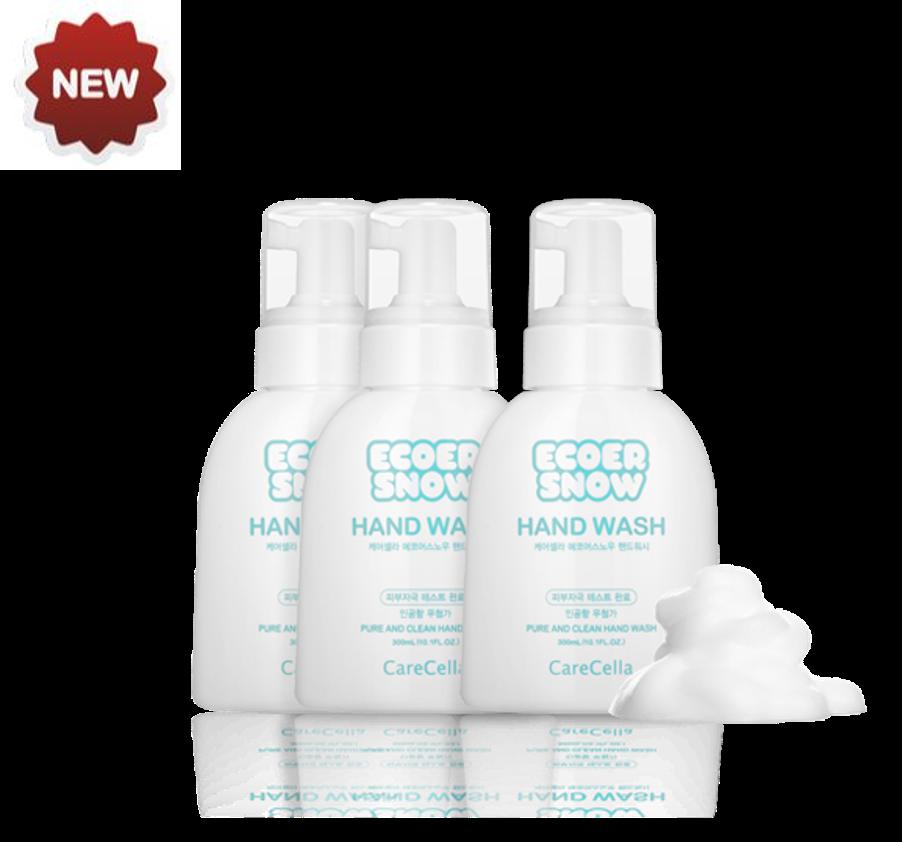 CareCella ECOER SNOW Hand Wash 3EA