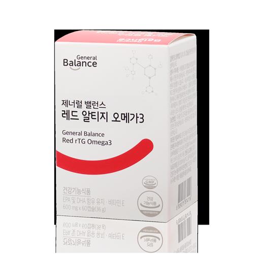 General Balance Red rTG Omega3