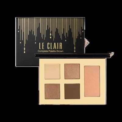 CareCella Le Clair Complete Palette Brown