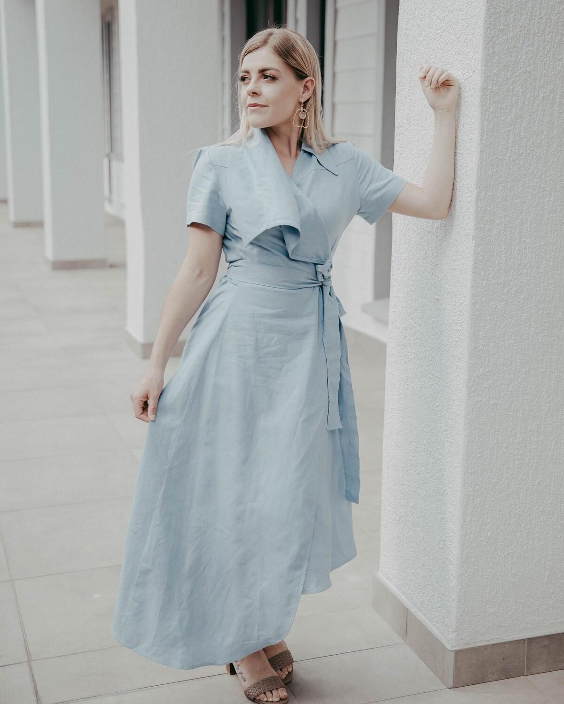 LEIA WRAP DRESS