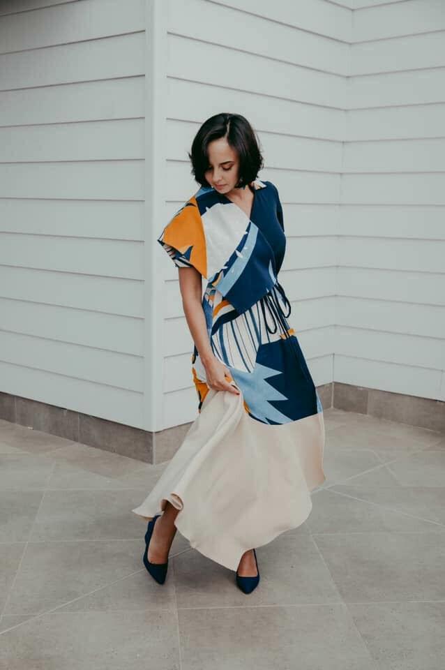 NOLA Wrap Dress