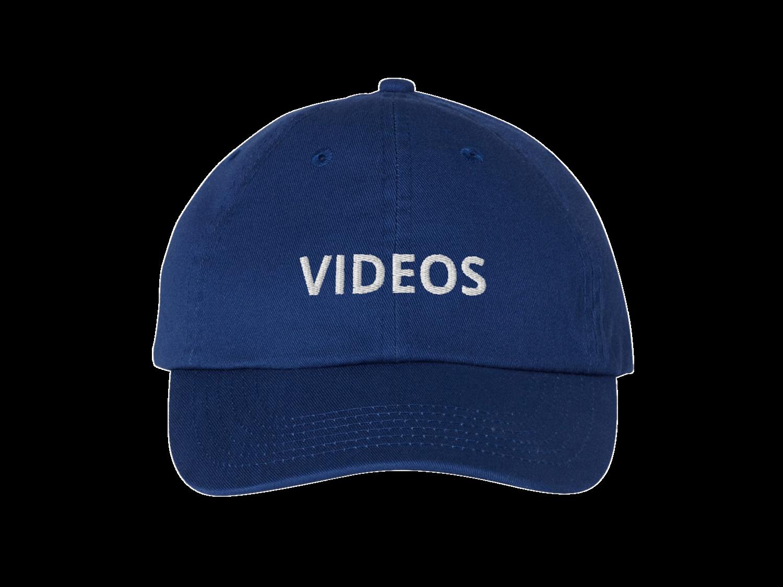 VIDEOS HAT BLUE