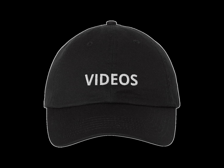 VIDEOS HAT BLACK