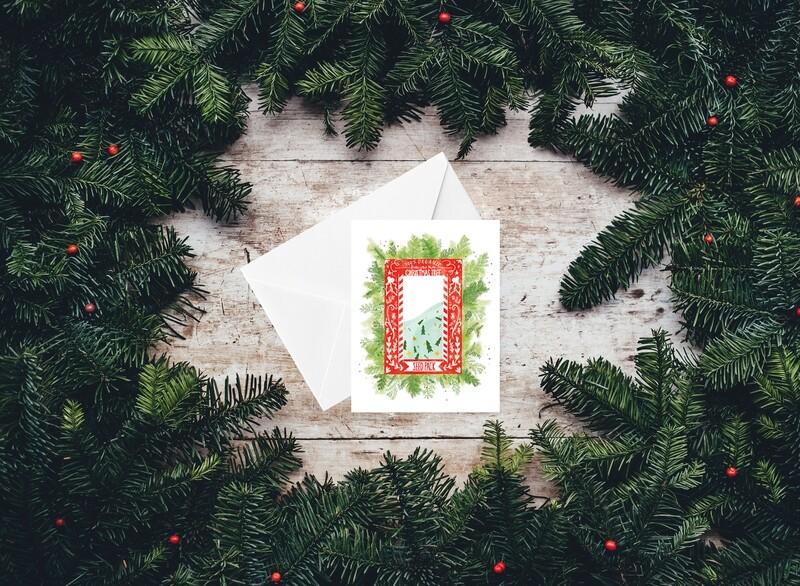 Organic Christmas Tree Seed Pack