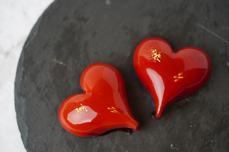 Valentine's Day Mini Mousse Cake