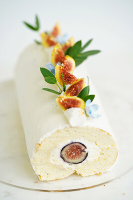 Fig Roll Cake