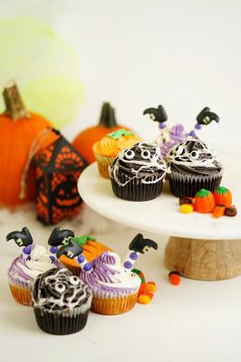 Halloween Cupcakes (6 count)