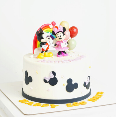 Mickey & Minnie Mouse Baby Cake