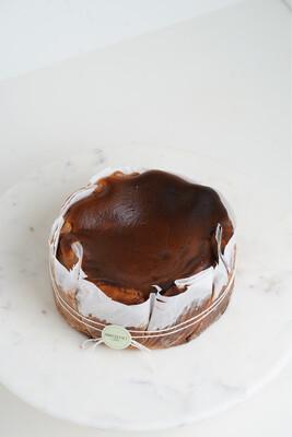 Chocolate Burnt Basque Cheesecake