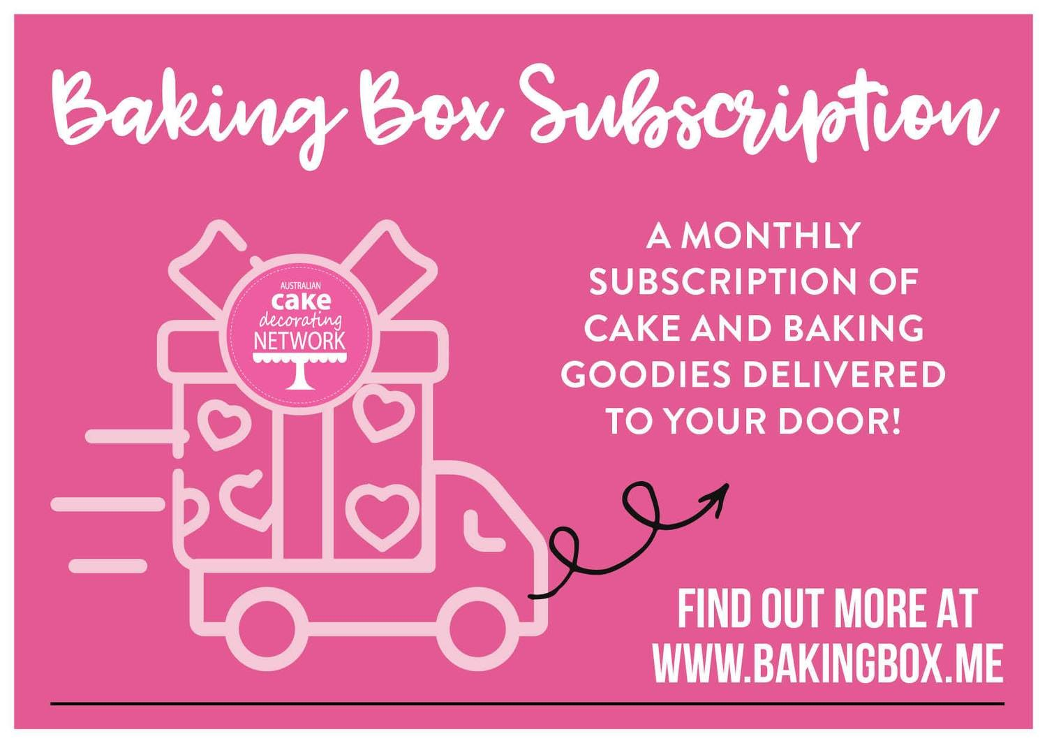 6 month subscription Baking Box