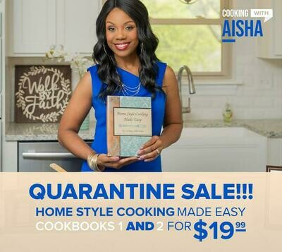 PDF DOWNLOAD ONLY - Home Style Cooking Made Easy Books 1 & 2 - PDF Download