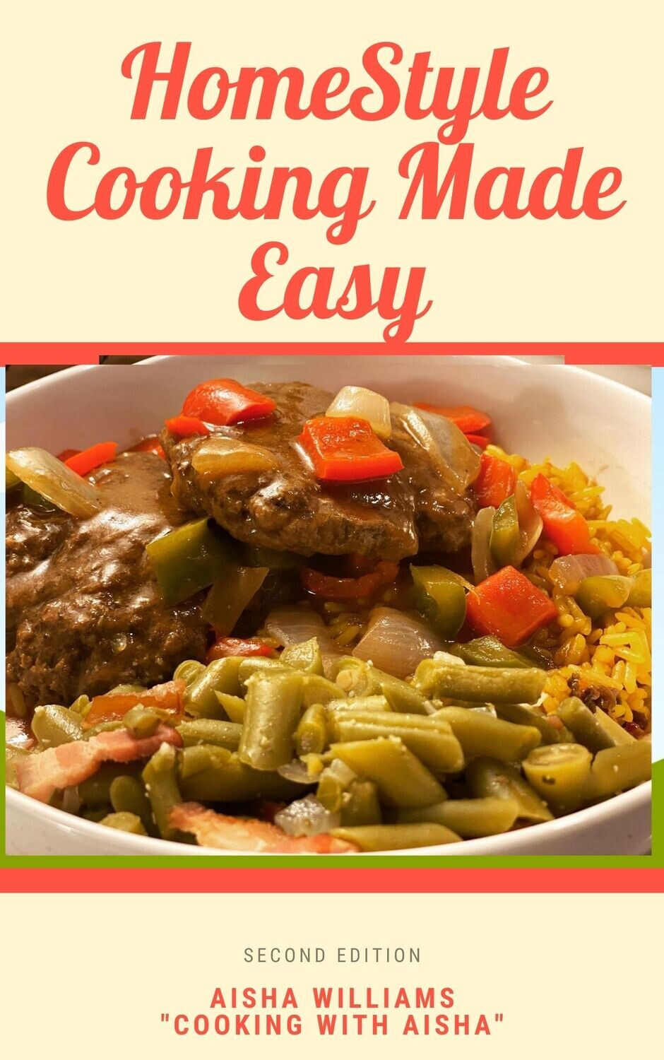 PREORDER TODAY ****Home Style Cooking Made Easy - 2nd Edition - INSERTS ONLY****