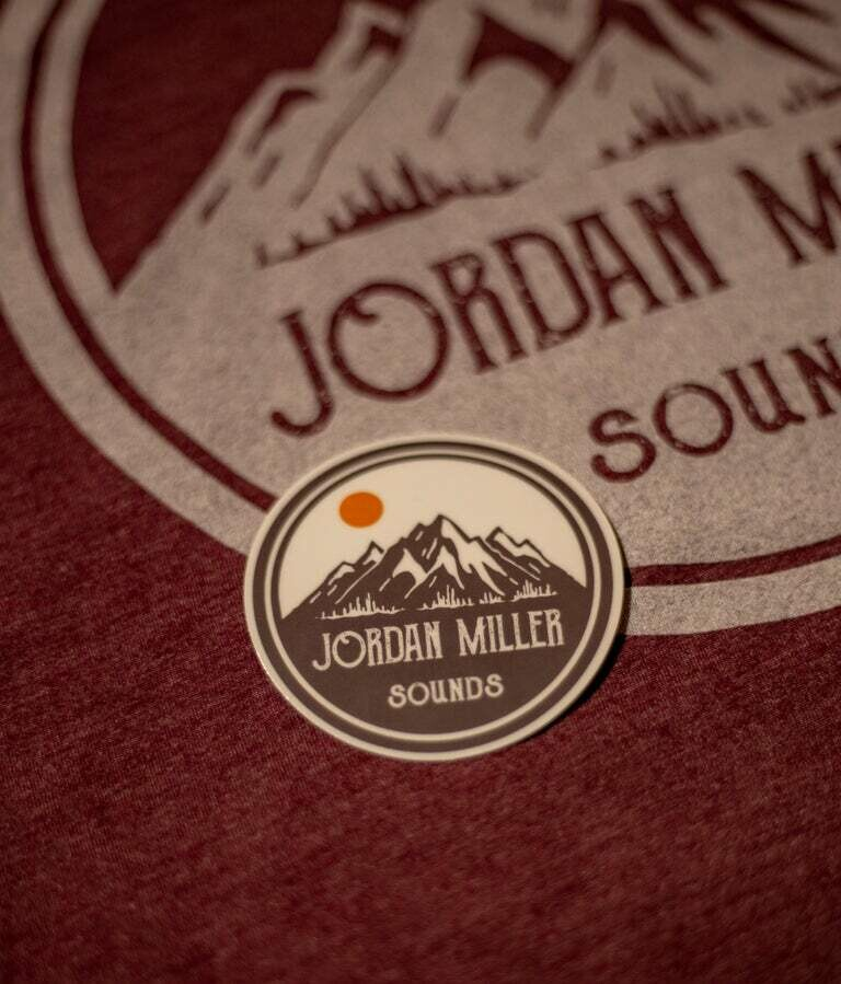 Sticker - JMS Mountain Logo