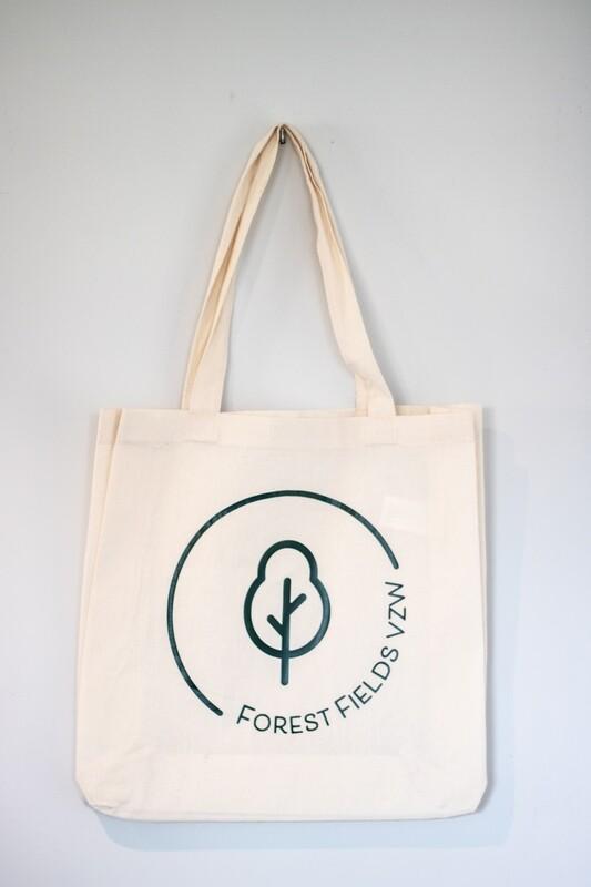Totebag Forest Fields vzw logo