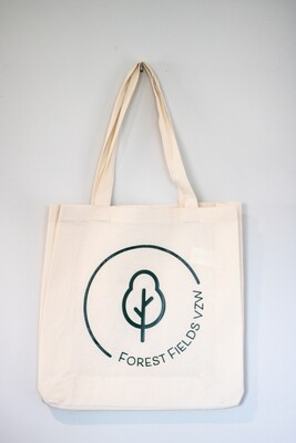 Totebag Forest Fields vzw logo