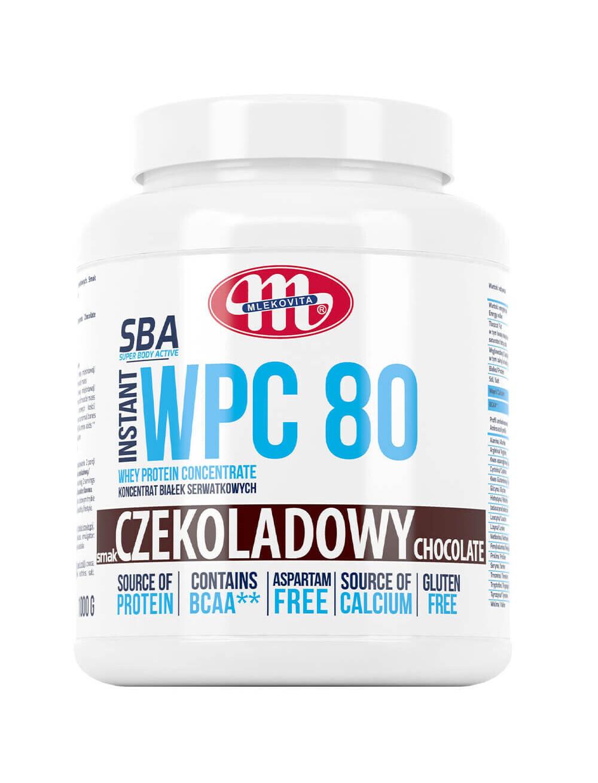 Koncentrat białek serwatkowych WPC 80 -  czekoladowy