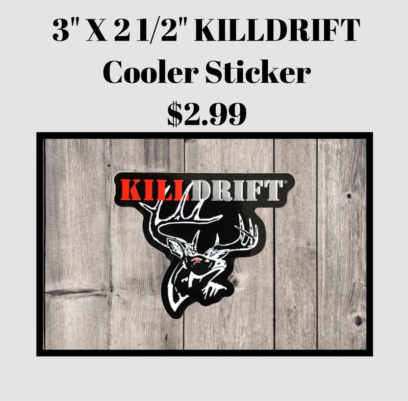 KILLDRIFT Cooler Sticker