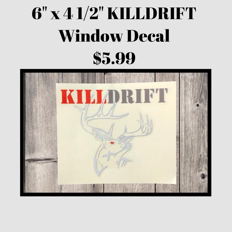 KILLDRIFT Window Decal