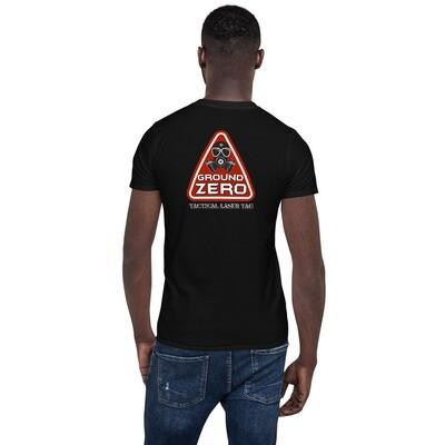 Triangle Back Short-Sleeve Unisex T-Shirt