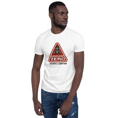 Triangle Front Short-Sleeve Unisex T-Shirt