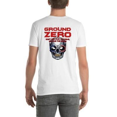 Skull Back Short-Sleeve Unisex T-Shirt